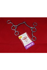 BIT* Junior Cowhorse Moderate Stage 2 Wire Snaffle With Full Movement 25-1890