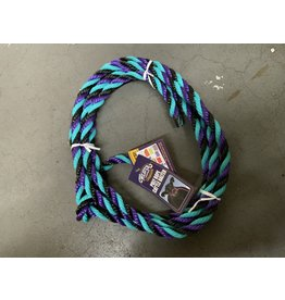 COW*Poly Rope Cattle Halter - Purple,Black,Teal - #35-7900-H36 (Box of 26 of various colors - #93-2003)