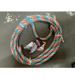 COW*Poly Rope Cattle Halter - Teal, Orange, Grey - #35-7900-H38 (Box of 26 of various colors - #93-2003)