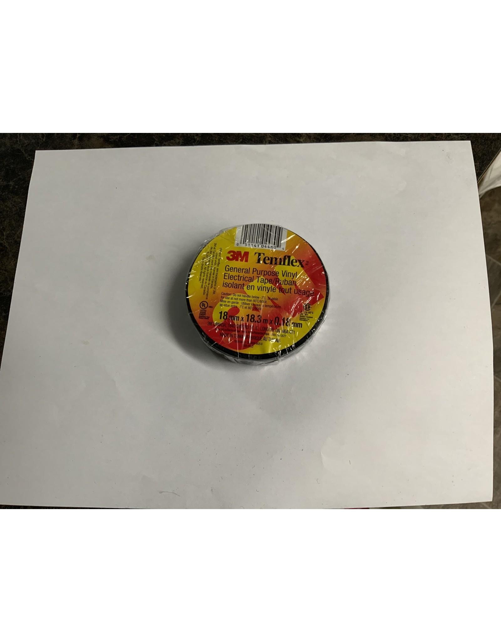 3M Colourflex Vinyl Tape - Black ME016-BK