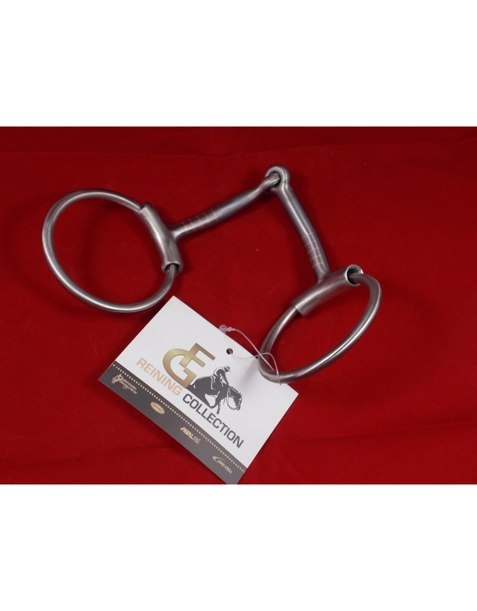 BIT* FG Brushed Snaffle w/sleeves - #255359