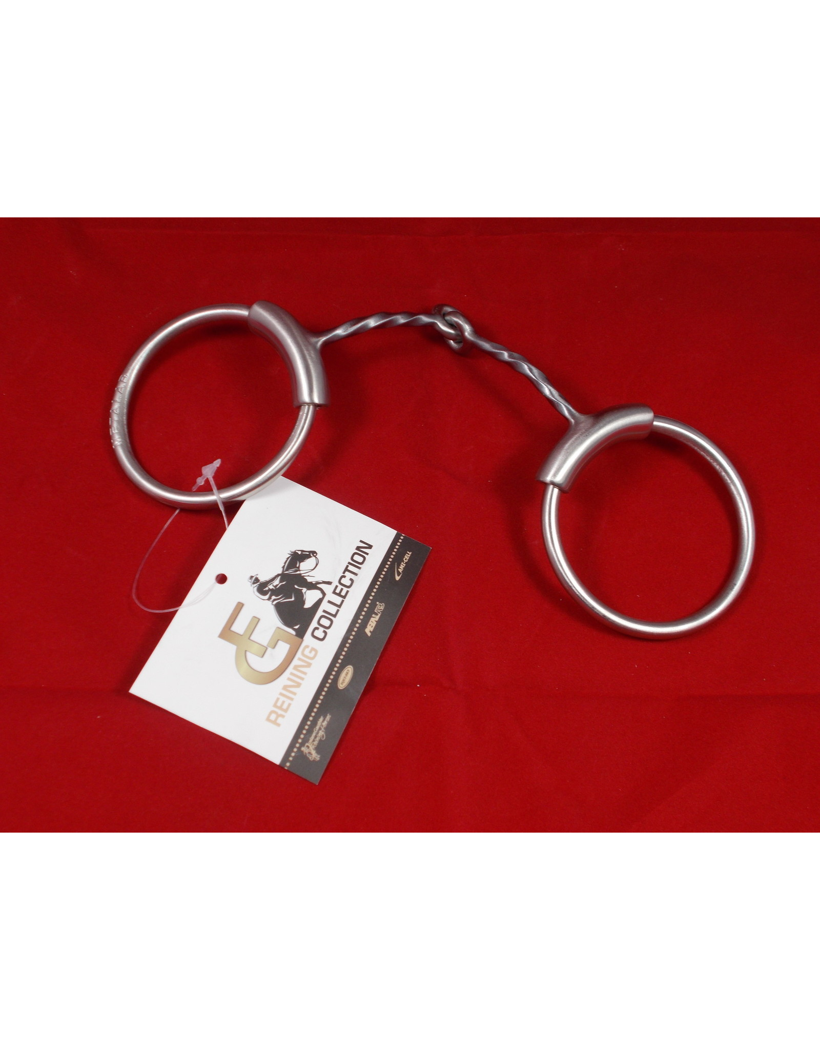 Bit* Brushed Slow Twist Snaffle - #255341