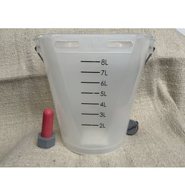 KERBL Calf feeding pail clear - #662034