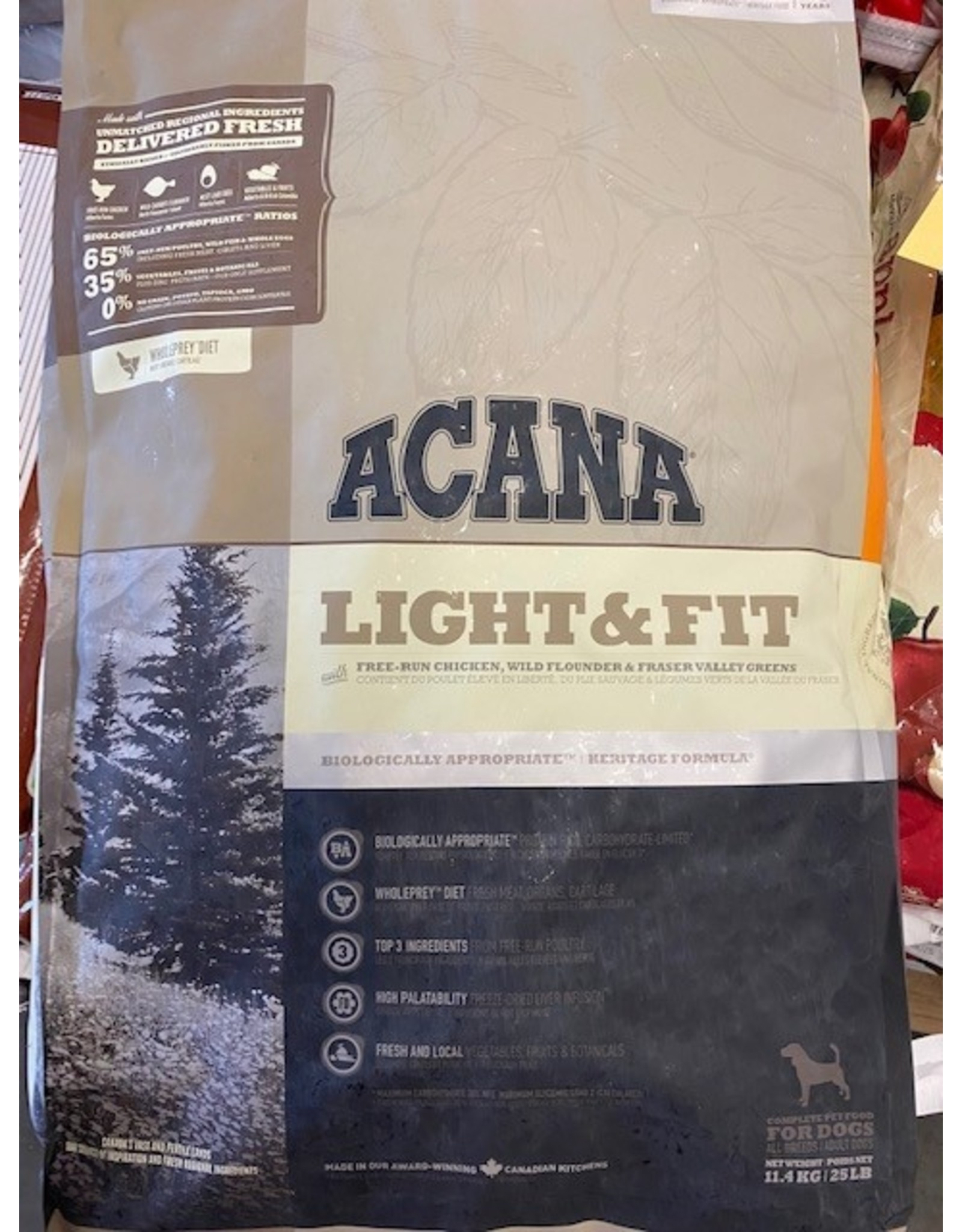 Acana* Light & Fit 11.4kg