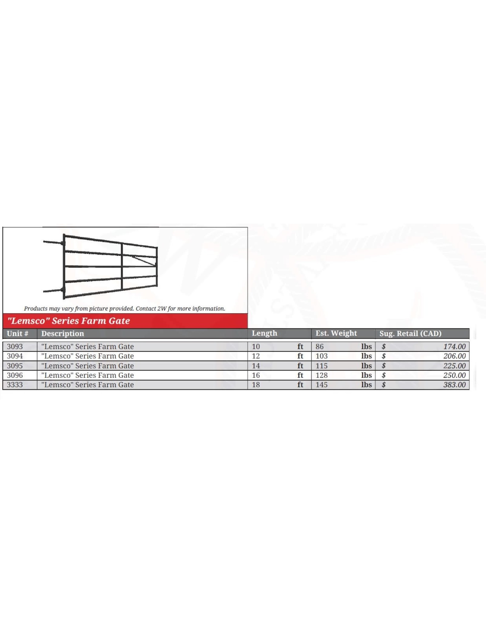 SALE  6' - Farm Gate Bolt Hinge (light grey) *** WILL NOT REORDER *** SALE IF BUY ALL ***- 3091