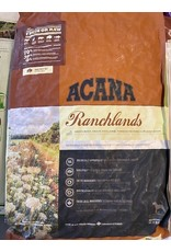 ACANA*RANCHLANDS-Angus Beef, Lamb, Pork, Bison-25lb (Bag Brown)- All Breeds and Life Stages D401-54311