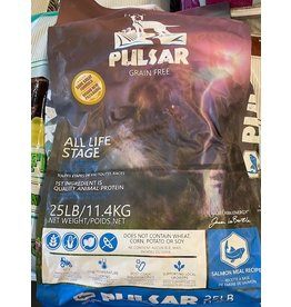HORIZON PULSAR* 25bpy Grain Free - Salmon 25lb (Blue Bag) All Life Stages New bags Pink and Blue  4 pp    4900166