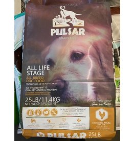 HORIZON PULSAR* Grain Free - Chicken -25lb (Yellow Bag) All Life Stages 11.4kg/25lb *AAAA 4900164