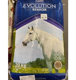 PURINA EVOLUTION SENIOR - 20KG F8203524000TZ20 **  TOP SELLER  utilizes the latest research on the vital requirements for mature horses with strong emphasis on immunity and overall health. Formulated with proven quality ingredients -Drug free facility