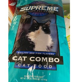 Cat Food Tuffy's Supreme 40 lb (18 kg) Cat combo 19505-4