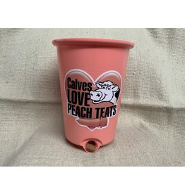 Peach Teats Reversible bucket