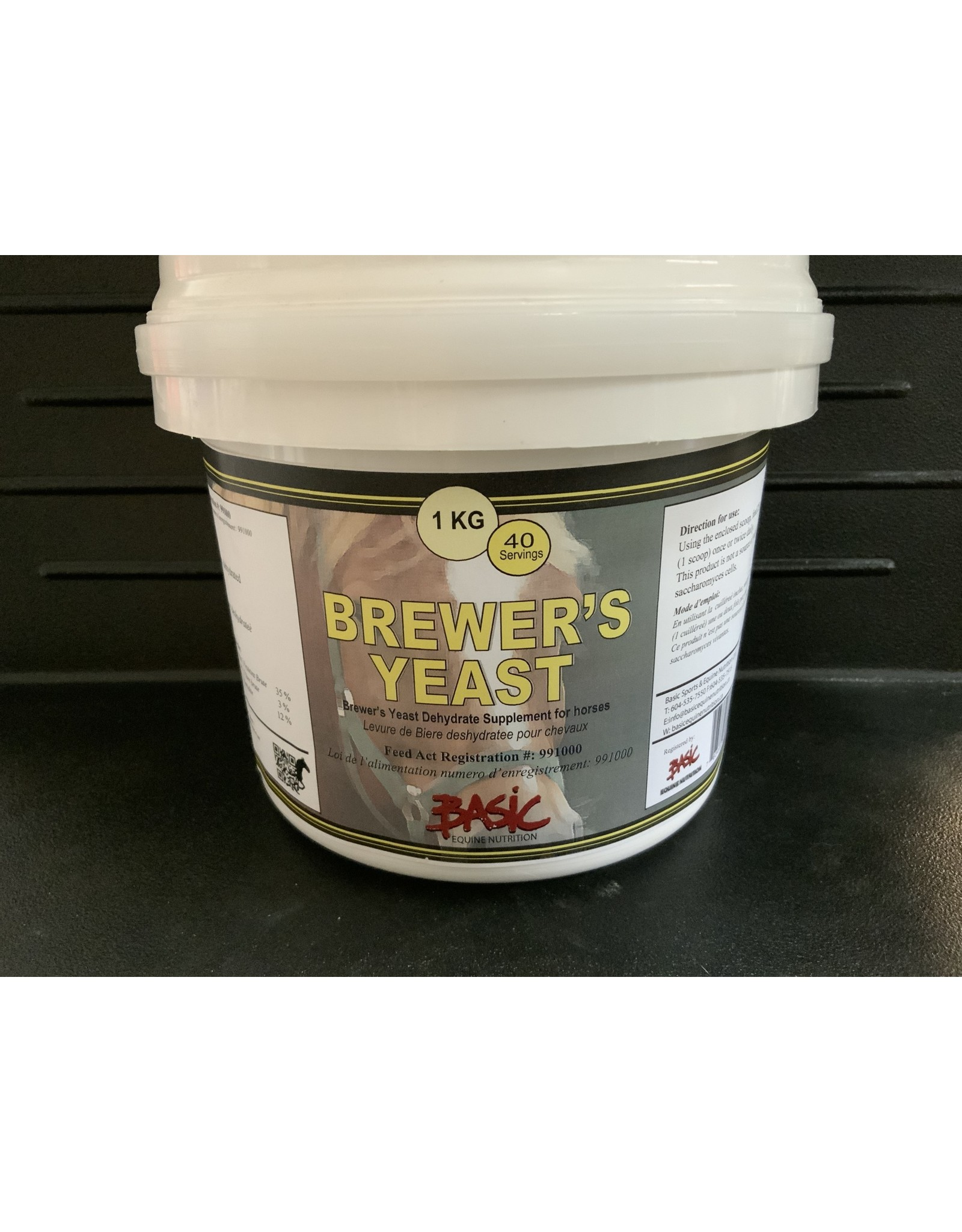 Brewers Yeast  1kg TEN640