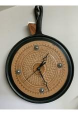 Clock - Kitchen Gridle Cast Iron