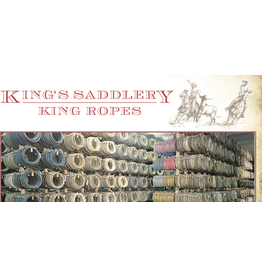 King 3/8 Scant Nylon Ranch Rope 50 feet Soft