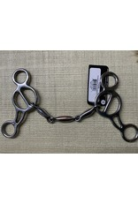 BIT* PC Shortshank Gag 3PC Snaffle PCB-94A