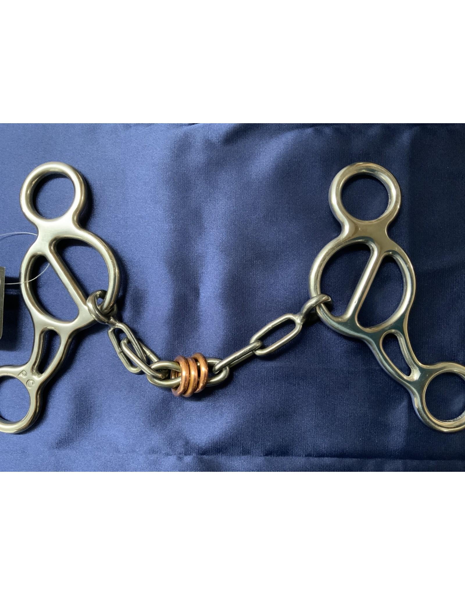 BIT* PC Shortshank Gag Chain w/Copper Roller PCB-94C