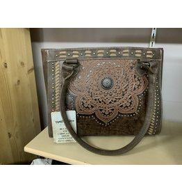 PURSE - Trinity Ranch - Tooled Leather Collection - Concealed Carry - Tote TR71G-8250