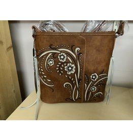 PURSE - Embroidered Collection - Brown - MW