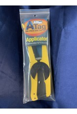 AF A-Tag One-Piece Ear Tag Applicator Yellow - #044-080