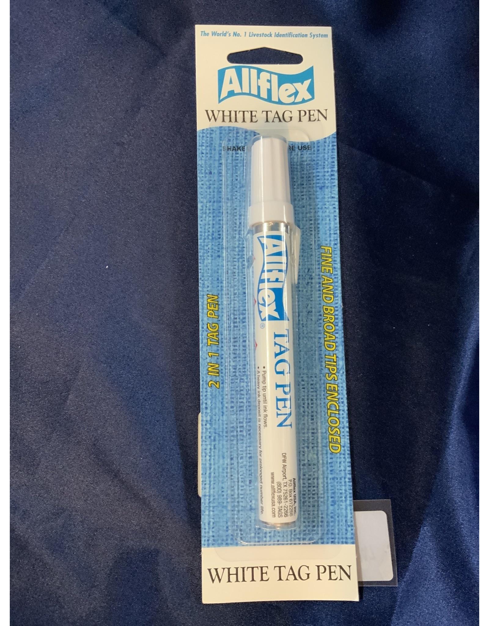 AF Fine/Broad Pen White