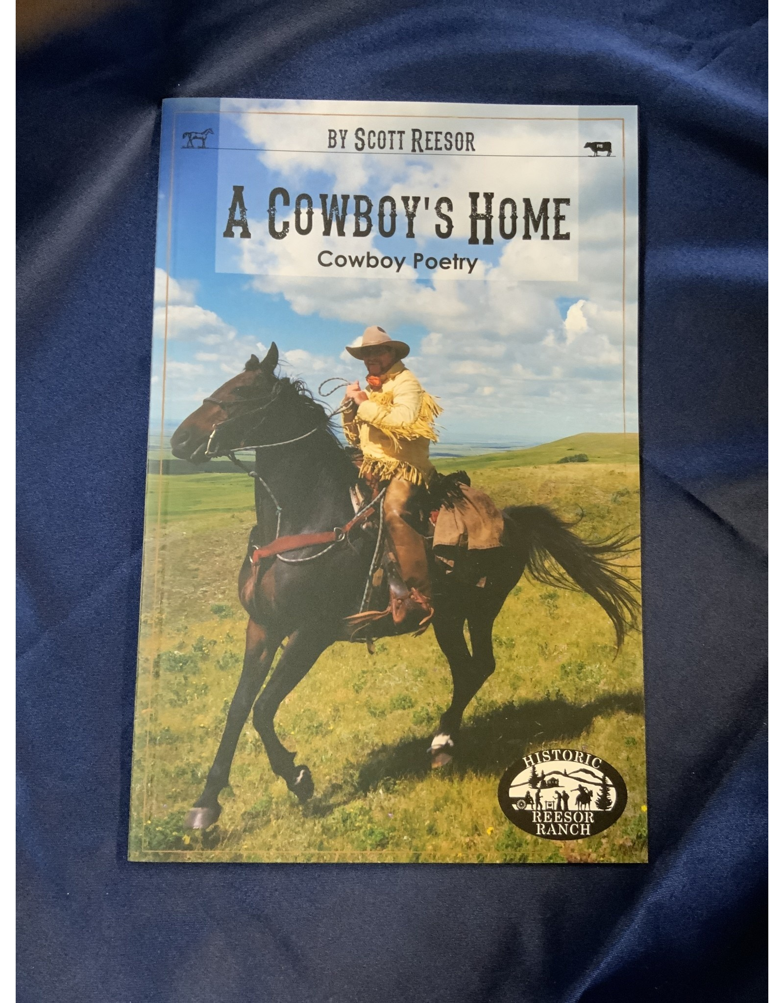 A Cowboy's Home - Cowboy Poetry - Book
