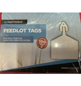 TAG* LEADER FEEDLOT TAGS 100 - Yellow FT07