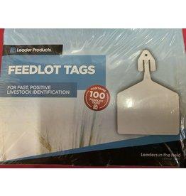 TAG* LEADER FEEDLOT TAGS 100 - YELLOW (No Code)