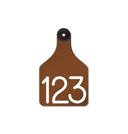 TAG*R Ritchey - Universal Large -Brown/White 25pk 04107 9999*N (Special Order Only)