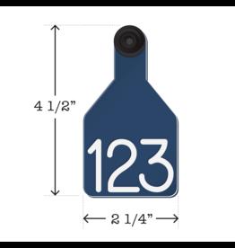 TAG*R Ritchey - Universal Medium Blue/White 25pk (not regular stock)