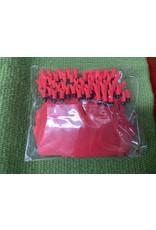 TAG* Allflex - A Tag - FEEDLOT TAG - RED - #ATAGFRE 50pcs