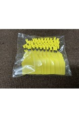 TAG*Allflex - A Tag - FEEDLOT TAG - YELLOW - #ATAGFYE 50 pcs