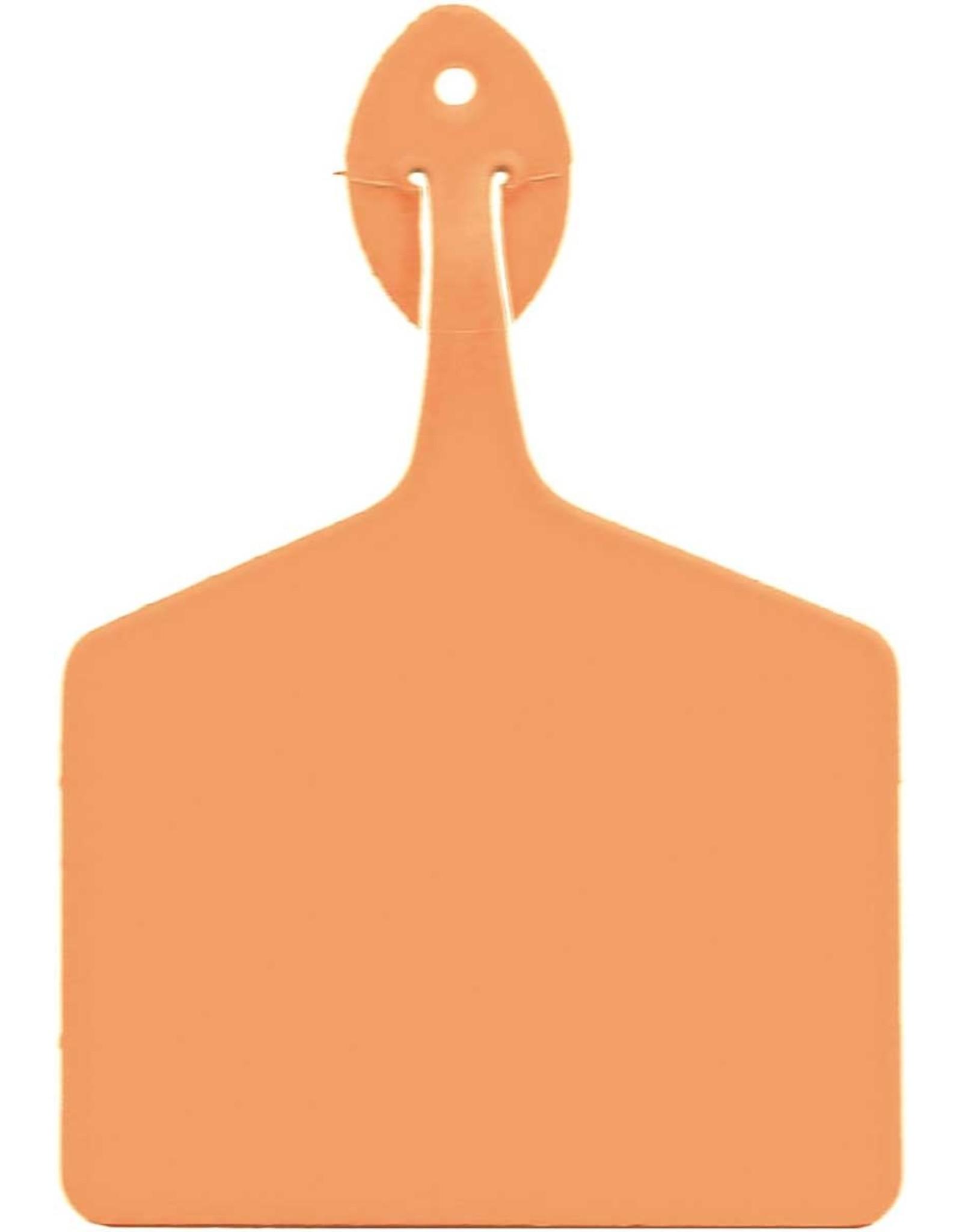 TAG* Allflex Feedlot Tag -  Light Orange - FEEDLOLOR 50pcs long package