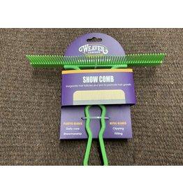 COW* Show Comb - LIME GREEN - #69-6068-LI