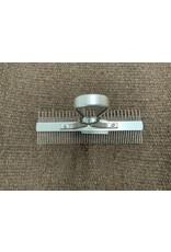 2 Side Comb, Reg/Fluff Alum HND 69-6074