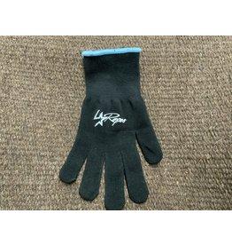 LoneStar Roper Glove- Black/Blue trim-small  # 797961