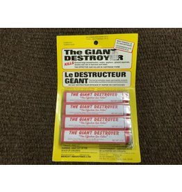 Giant Destroyers 4s - gas killer for ground hogs, moles, gophers,ground squirrels, & skunks