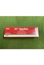 """20 X 1"""" DETECTABLE NEEDLES BOX OF 100 - 034-229"""