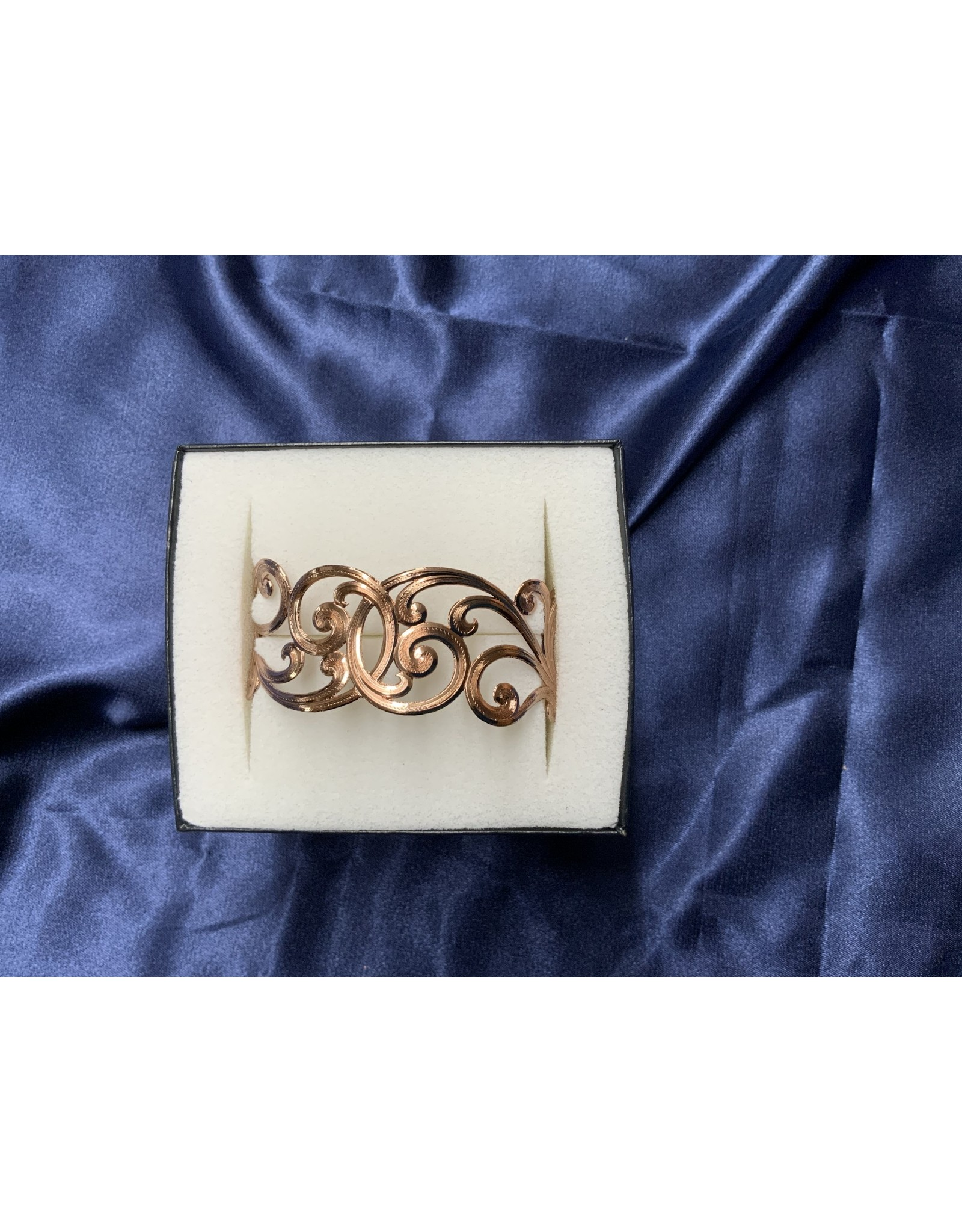 Bracelet Rose Filigree cuff BC2321RG