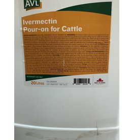 Ivermectin Pour-On for Cattle - 20L - this will do 280 head 1021-021 this is SOLVET just a different label - same stuff
