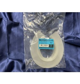 Snow Pad - Kerkhaert Snow Rim Pads - (Sold per pair) ***clear with rim****  medium FRONT