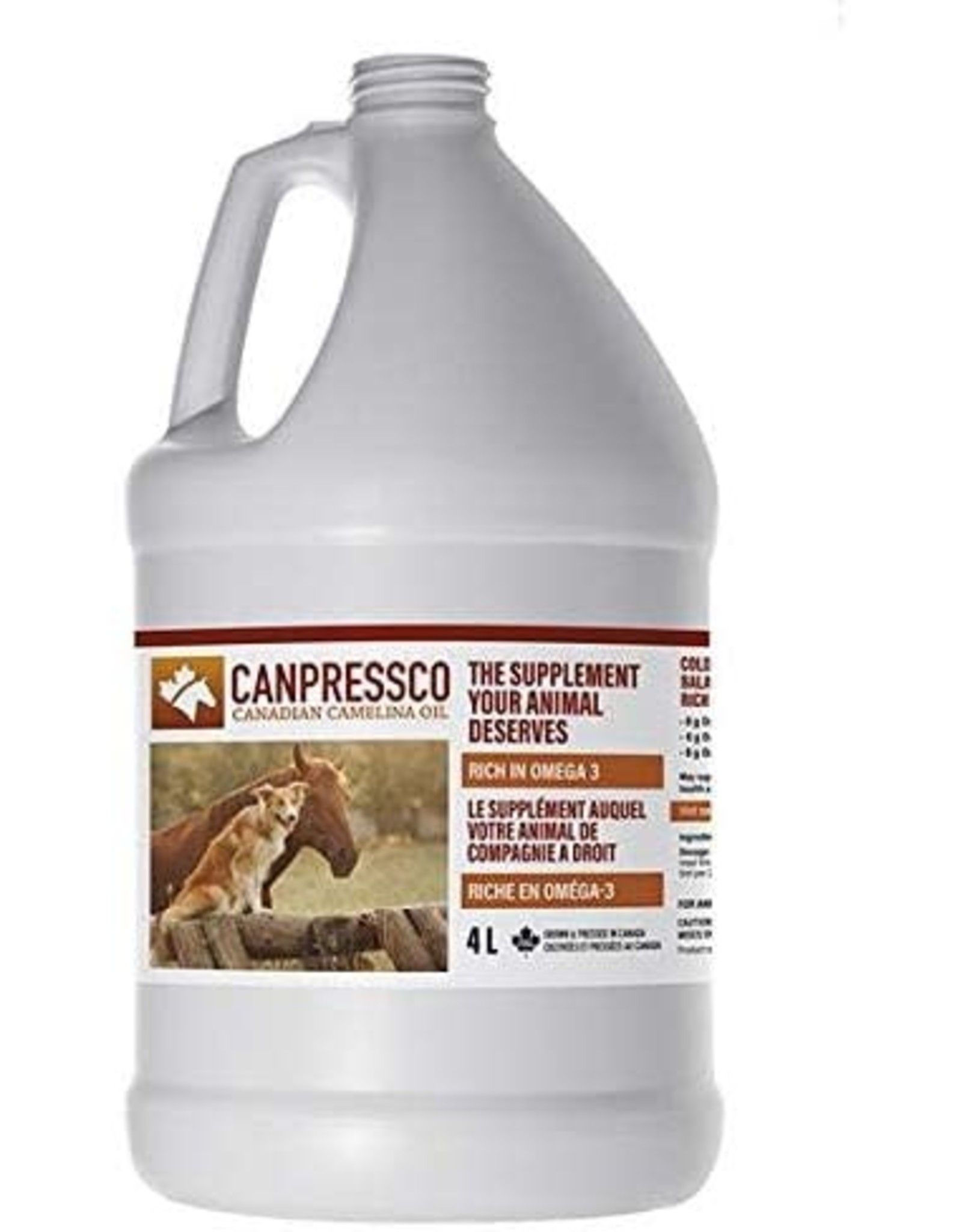 Canpressco, cold pressed, balance Omega 3-6-9 4L 114701