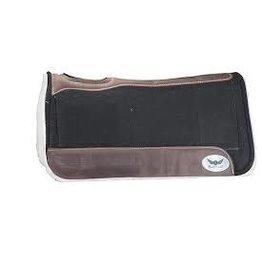 "PAD* Relentless Orthopedic Gel Pad TB 1"" - Black (with brown trim) 30x31"" TB90414A"