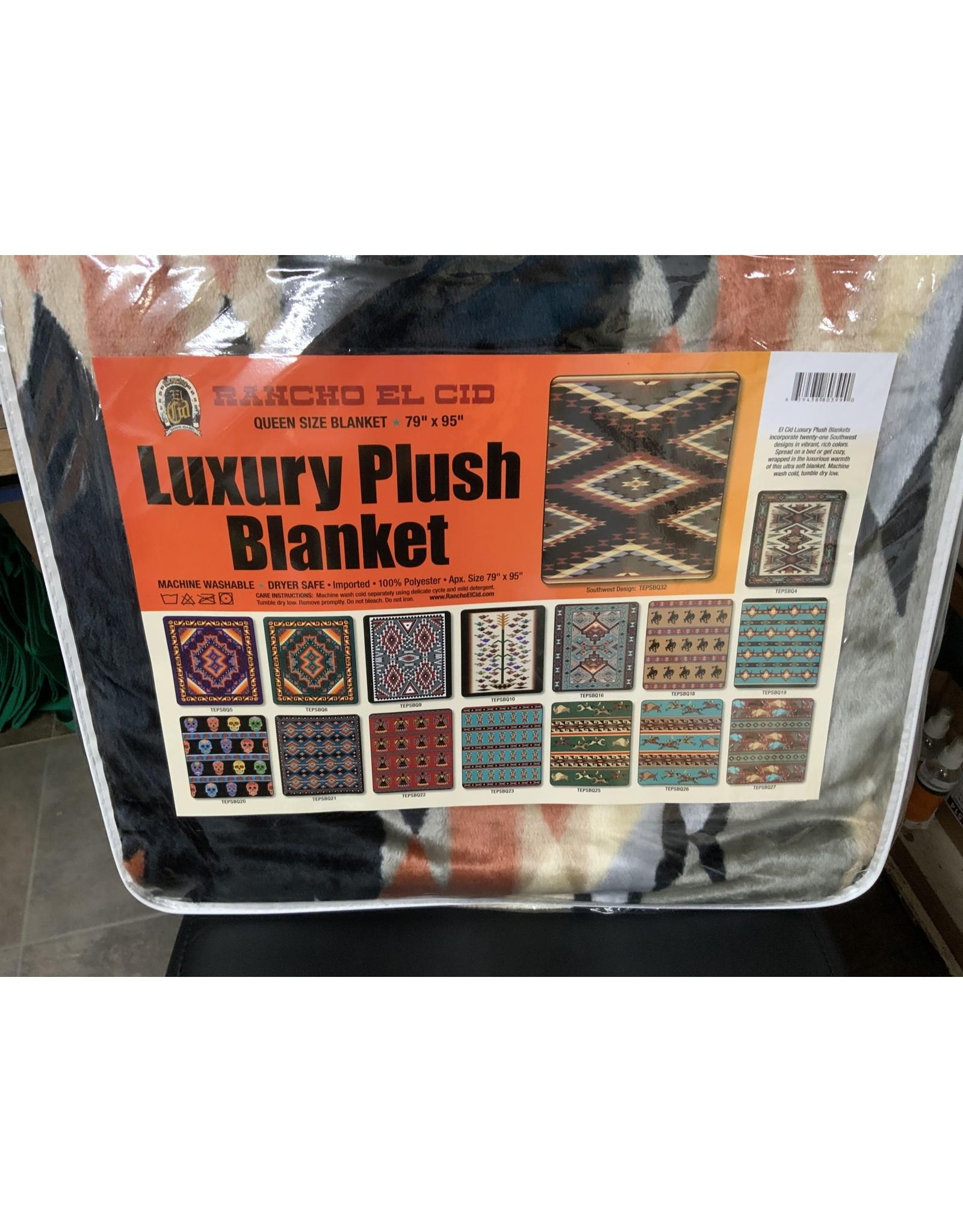Blanket, queen size, luxury plush TEPSBQ32