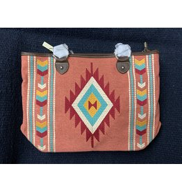 MontanaWest - Purse-Aztec Collection Tote- Red MW891-8317 RD