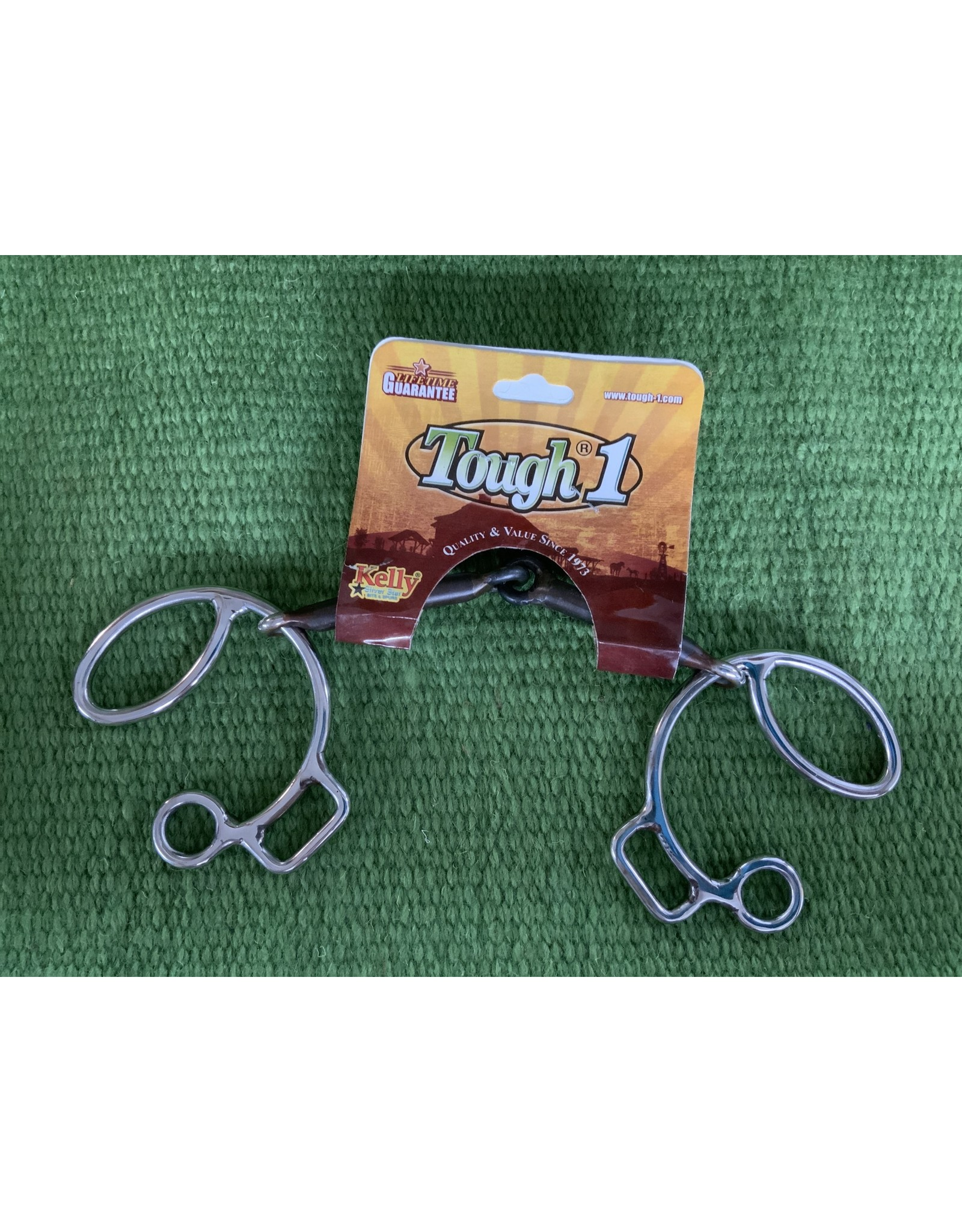 """BIT* 5"""" six style 3/8"""" SI smooth snaffle  - #25024-0-0"""