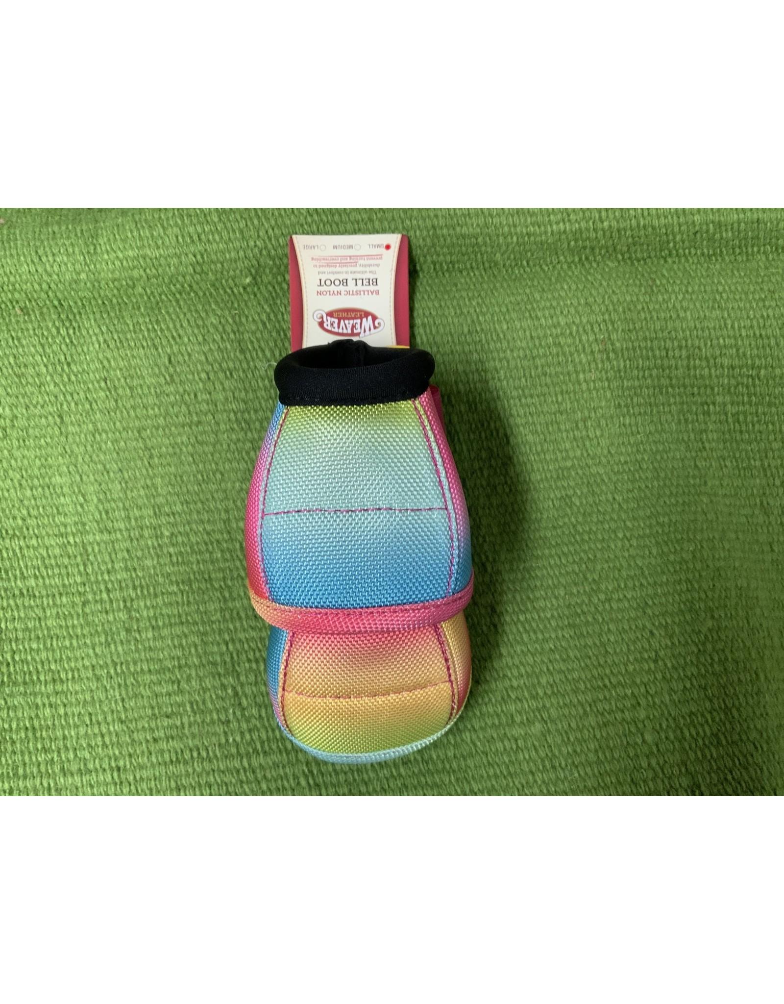 Bell Boot- Ballistic Nylon Bell Boots - Small - Rainbow - 35-4275-69 ***B/O***