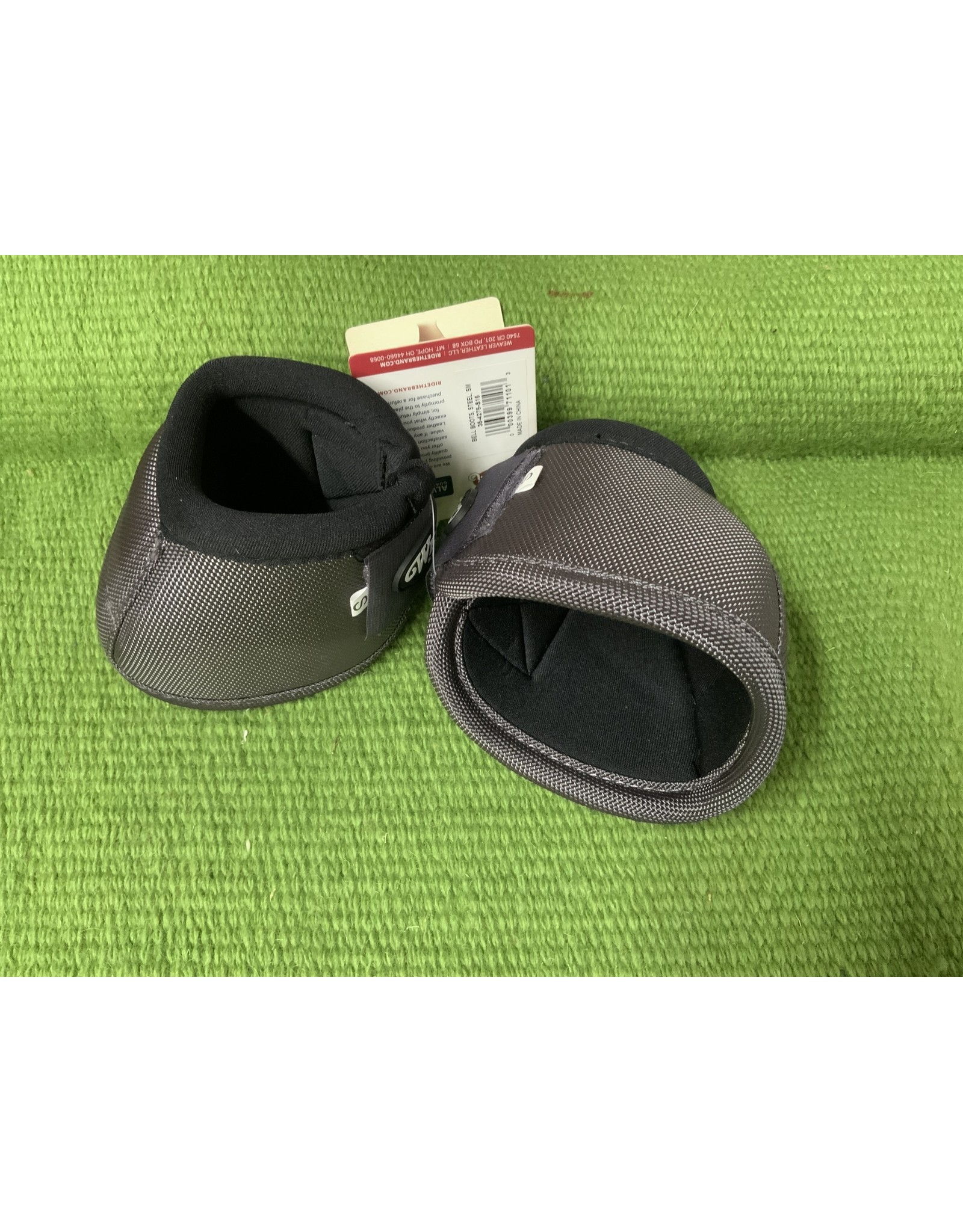 Bell Boot- Ballistic Nylon Bell Boots - Small - Steel - 35-4275-S15