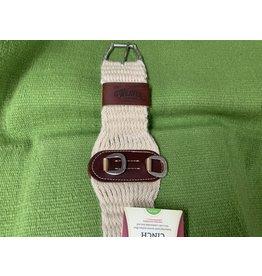 CIN* 100% Mohair Roper Cinch 26''    35-2436-26 AAAA*P (fancy roller buckles and one side leather cinch holder)