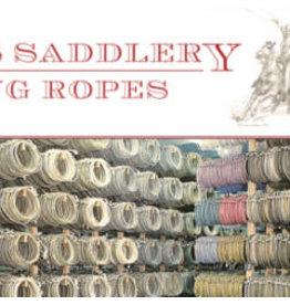 King 5/16 Scant Nylon Ranch Rope 50 feet Soft