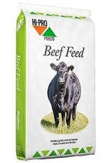 COMPLETE FEED - PRO FORM BEEF GROWER/FINISHER PLUS * if you want to add weight to cattle this is the best feed option *Medicated *   Aids in the prevention of bloat/ NOT  A BLOAT TREATMENT 826471